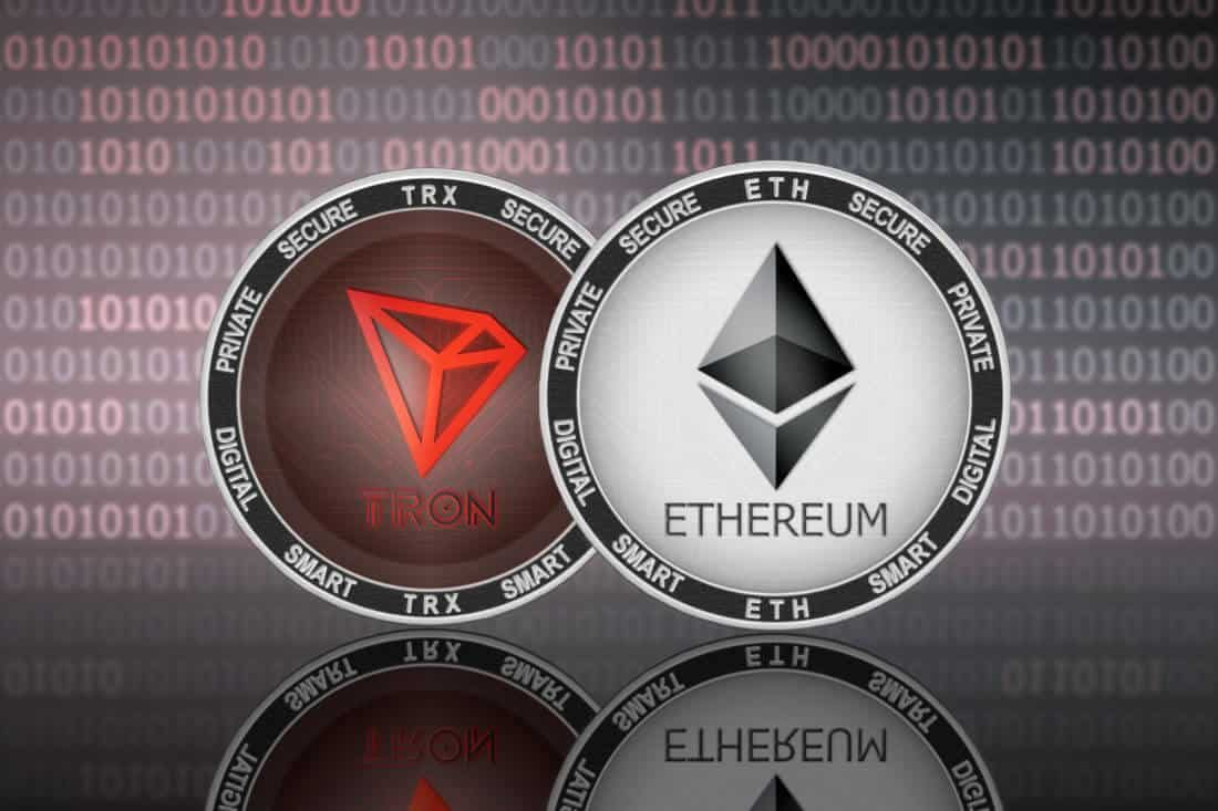 Converting TRON (TRX ) to Ethereum (ETH)